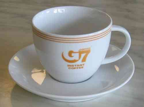 G7 coffee cup