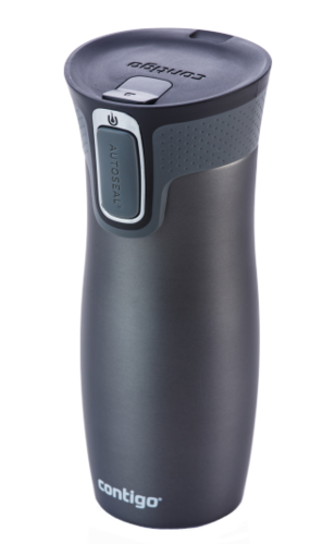 Contigo Westloop Thermobecher - 470 ml - gunmetal