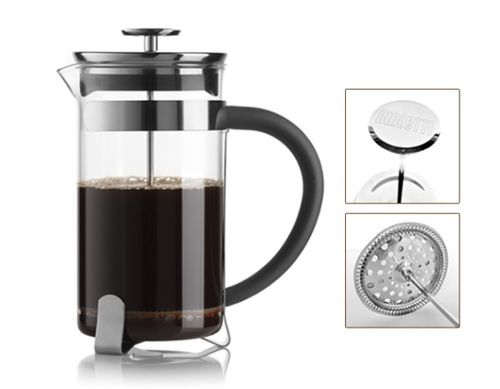 Bialetti Simplicity French Press Kaffeebereiter 8 Tassen