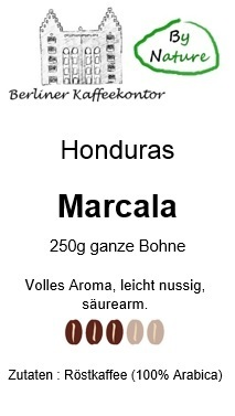 by nature Honduras Marcala Single Origin 250g Bohne